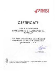 Certificate - REMSA 2020